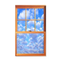 Fake Window Wall Decal by FakeWindow
