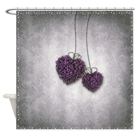 Grey And Purple Shower Curtain i have this shower curtain from