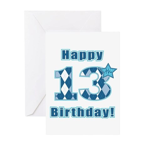 Happy 13th Birthday Greeting Cards Card Ideas Sayings