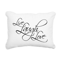 Live Laugh Love Pillows, Live Laugh Love Throw Pillows