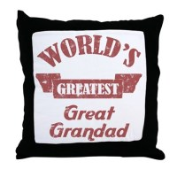 Great Grandad Pillows, Great Grandad Throw Pillows ...
