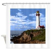Lighthouse Shower Curtain by SammysMomsCustomDesign