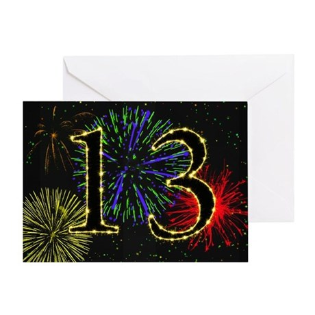 13Th Birthday 13th Birthday Greeting Cards Card Ideas