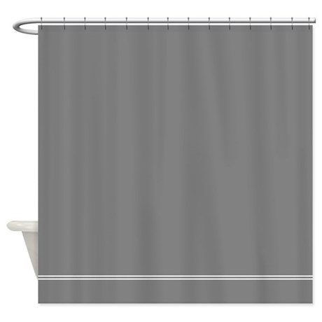 Solid Grey Shower Curtains Solid Grey Fabric Shower Curtain Liner
