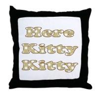 Kitty Pillows, Kitty Throw Pillows & Decorative Couch Pillows