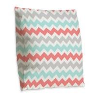 Aqua Grey Coral Pillows, Aqua Grey Coral Throw Pillows ...