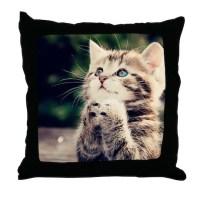Kitten Pillows, Kitten Throw Pillows & Decorative Couch ...