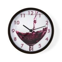 Wine Clocks | Wine Wall Clocks | Large, Modern, Kitchen Clocks