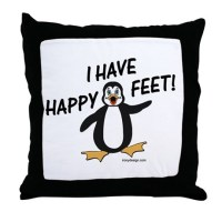 Happy Feet Pillows, Happy Feet Throw Pillows & Decorative ...