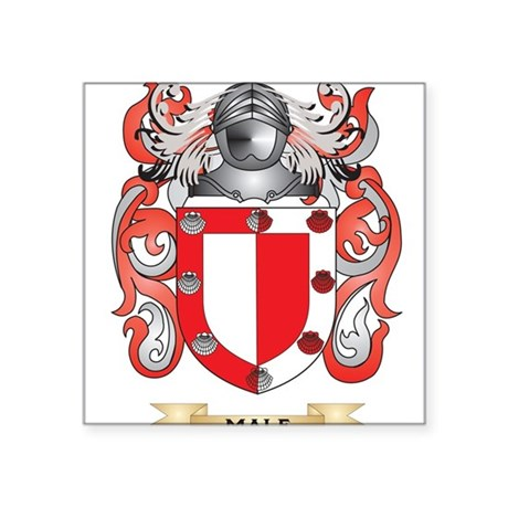 Male Coat of Arms Family Crest Sticker by listingstore