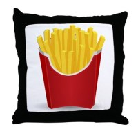 French Fries Pillows, French Fries Throw Pillows ...