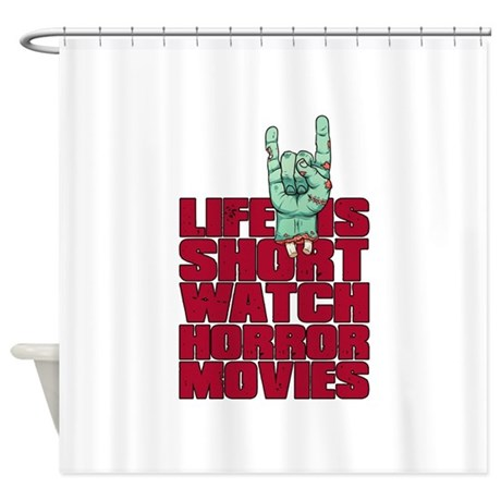 Life is short Shower Curtain by besthorrorstore