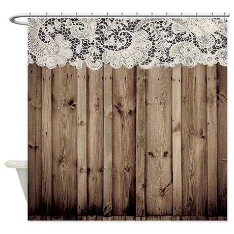 Rustic Burlap Shower Curtains  Rustic Burlap Fabric