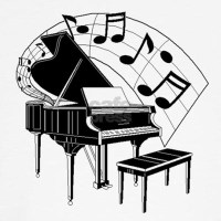 Piano Jumper by MusicalInstruments