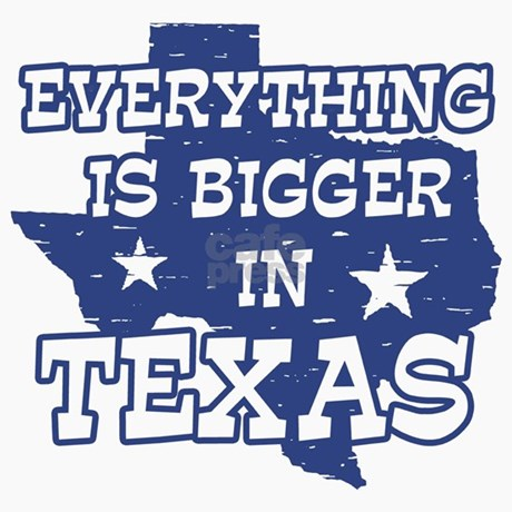 Everything Is Bigger In Texas Magnet By Dynotees