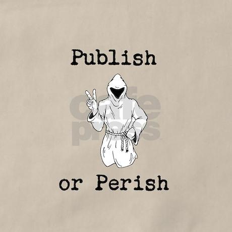 Publish or Perish Apron by AcademicallyMinded