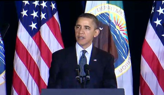 Obama announces support of the UN Declaration