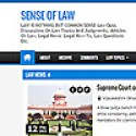 Sense of Law | Law is nothing but common sense