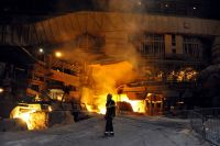 Gallery: Steelmaking, the wharf, and blast furnace in ...
