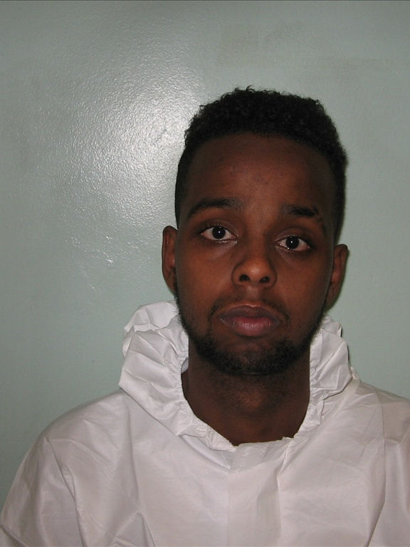 Somalian rapist Sadiq Ali. Ali, 23, was found guilty of rape, attempted rape, and false imprisonment after a trial which took place between September 23 and October 4.