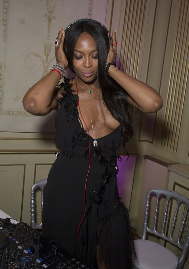 Image result for naomi campbell braless