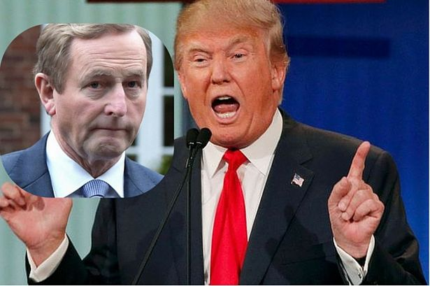 Image result for Irish Government Ministers divided over inviting Donald Trump to Ireland?