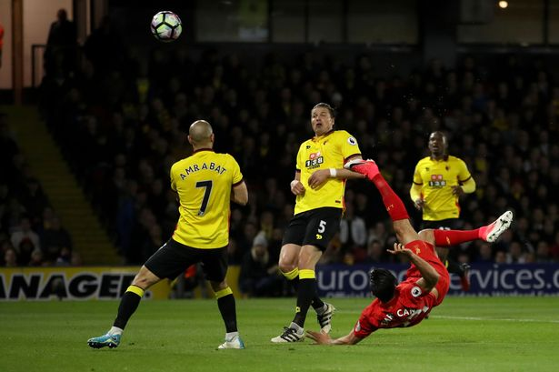 Liverpool fans baffled as Emre Can's Watford wondergoal fails to make FIFA's Puskas shortlist