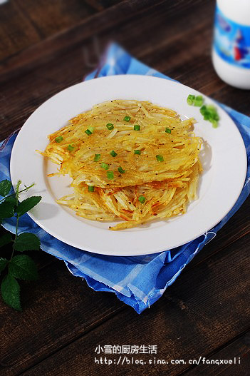 【土豆煎餅】的做法_土豆煎餅_雪坊小腳丫的日志_美食天下