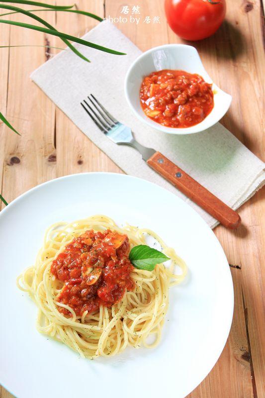 【番茄肉醬意面】經典意大利面的簡約做法_番茄肉醬意面_淘居然的日志_美食天下