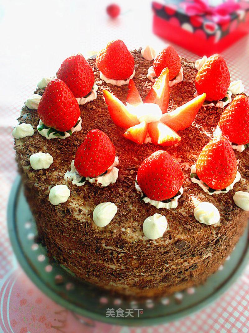 草莓生日蛋糕的做法_菜譜_美食天下