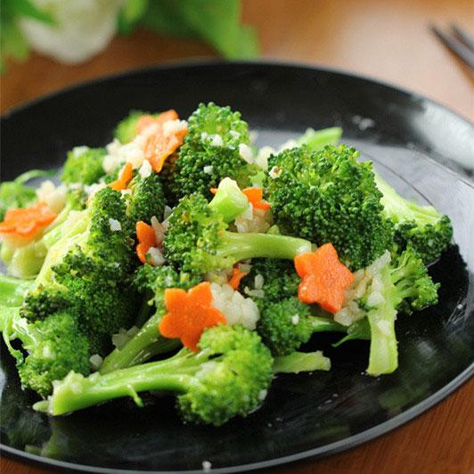 蒜炒西蘭花的做法_蒜炒西蘭花怎么做_淇家的小廚房的菜譜_美食天下