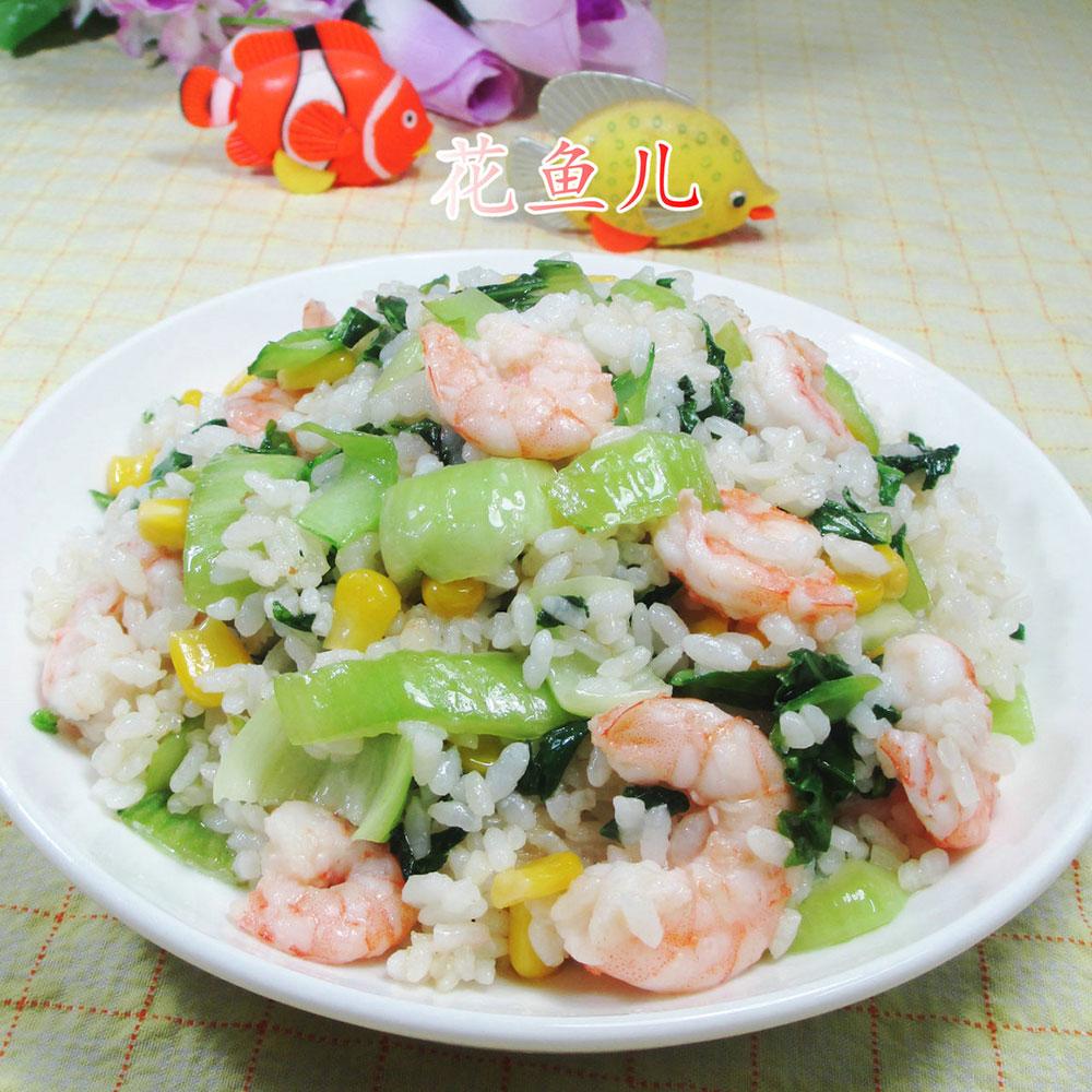 玉米粒炒飯的做法_玉米粒炒飯怎么做_明月舞青衣的菜譜_美食天下