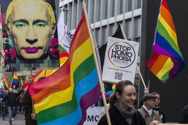 Image result for chechnya gay