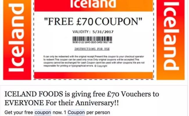 Sainsbury S Scam Warning The Fraudulent Shopping Voucher