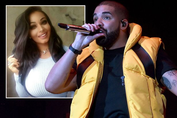 Image result for Drake 'invited Irish glamour model on tour'