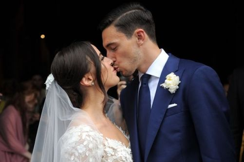 Image result for Matteo Darmian wedding