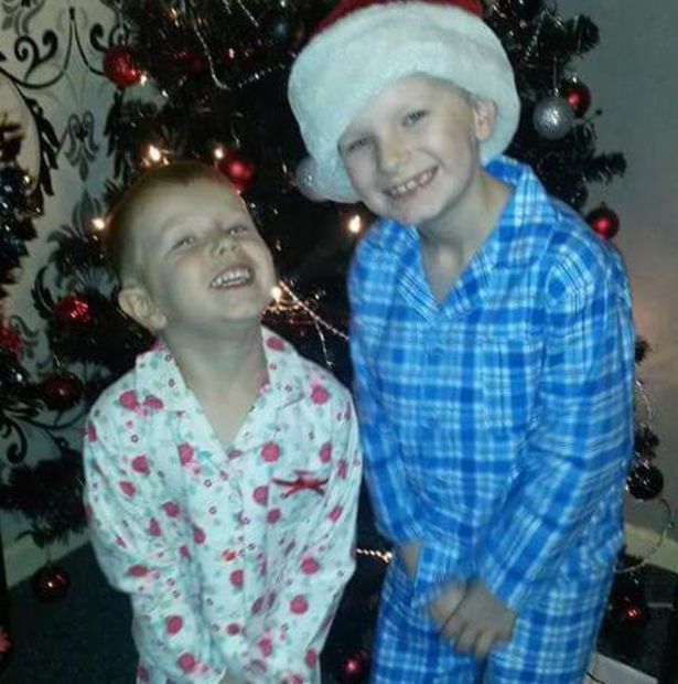Tegan, pictured, left, with Josh, was fascinated with makeup and would often watch her mum getting ready