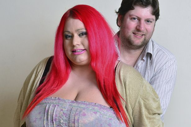 Claire Smedley with her partner, Chris Willgoose