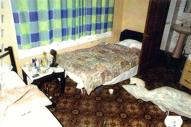 House of horror: One of the rooms where the girls were taken to be abused