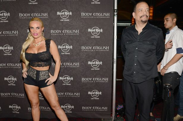 Nicole Coco Austin and Ice T at Body English Nightclub