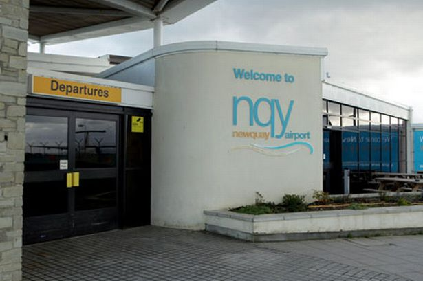 Drop: Newquay Airport