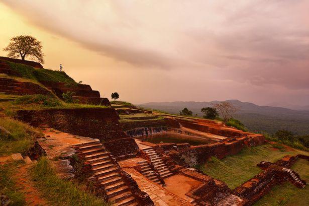 Ruinas Sigiriya Sri Lanka