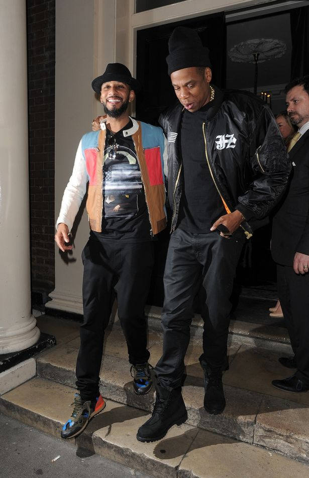 Pictured Beyonce Jay Z and WilliAm party till the
