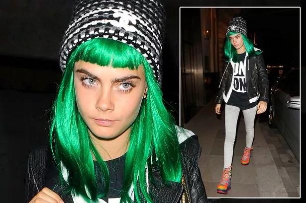 Cara Delevingne Suffers Rare Fashion Fail As She Debuts