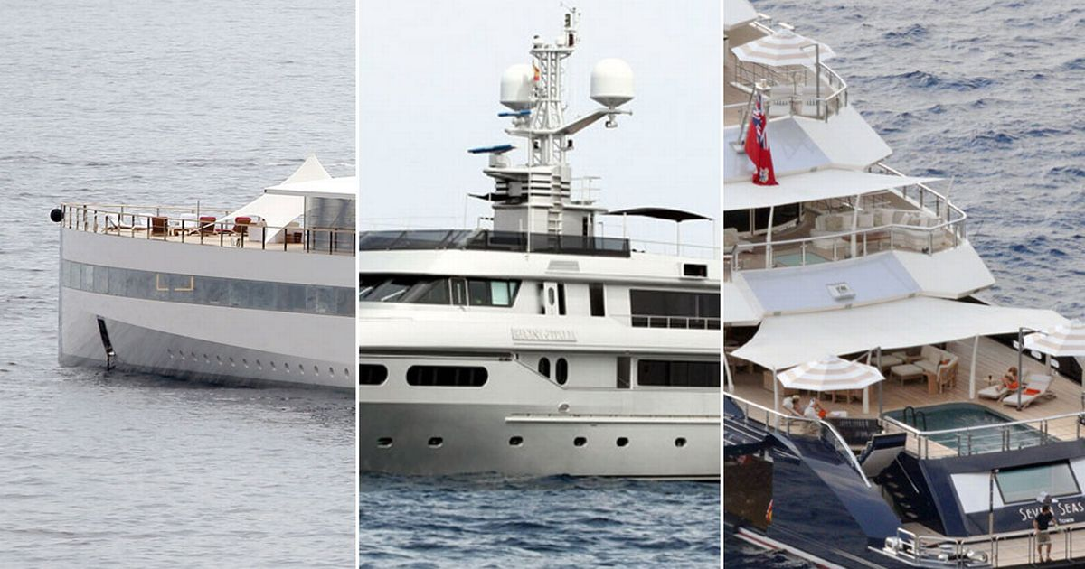 From Steve Jobs To Tiger Woods Top 10 Luxury Yachts Owned