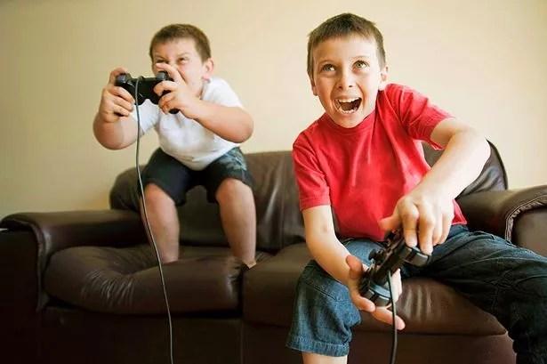 gaming children kids ps2