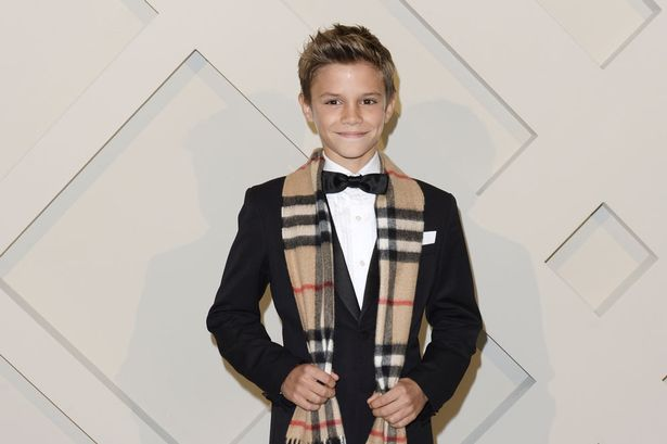 Romeo Beckham 12 paid 45000 for ONE DAYS work on