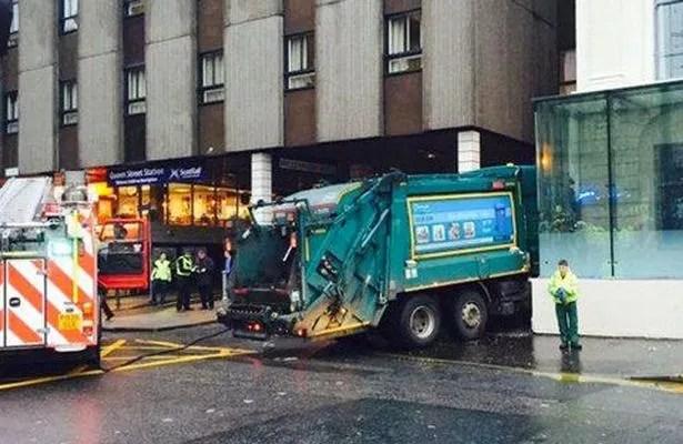 bin lorry Glasgow