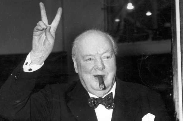Image result for image winston churchill smoking a cigar
