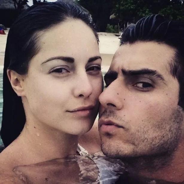 Louise Thompson and boyfriend Alik Alfus